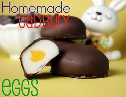 Homemade Cadbury Eggs!
