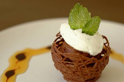 Mint Chocolate Mousse!