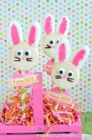 Oreo Bunny Pops!