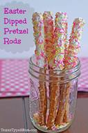 Easter Pretzel Rods!