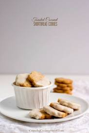 Chocolate Coconut Shortbread Cookies!
