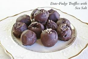 Date Fudge Truffles