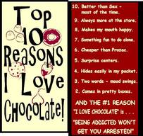 Why I Love Chocolate!