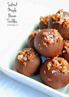 Salted Maple Bacon Truffles!