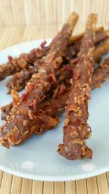 Chocolate Dipped Pretzels With Bacon!