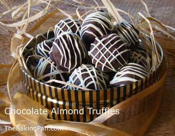 Chocolate Almond Truffles!