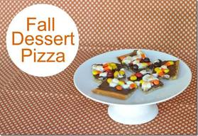 Fall Dessert Pizza!