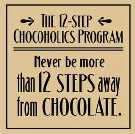 12 Steps For Chocoholics!