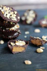 Chocolate Pumpkin Peanut Butter Cups!