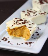 White Chocolate Pumpkin Pie Cups!