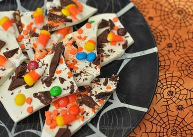 White Chocolate Candy Bark!