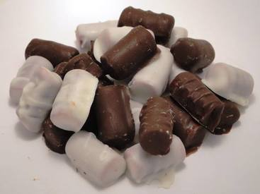 Chocolate Covered Sausage Bites?