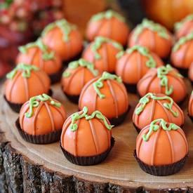 Pumpkin Bread Truffles!