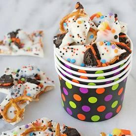 Halloween Candy Bark!