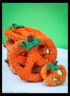 Chocolate Covered Pumpkin Pretzels!