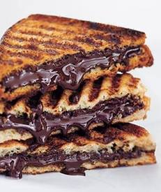Grilled Chocolate Sandwich!