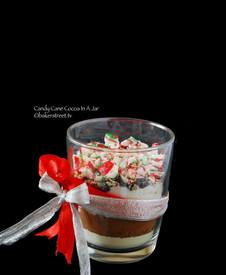 Candy Cane Cocoa In A Jar!