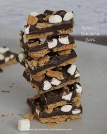 Smores' Chocolate Bark Candy!