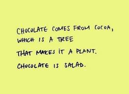 I Am Resolute To Eat More Salad!