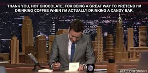 Jimmy Fallon Loves Chocolate Too!