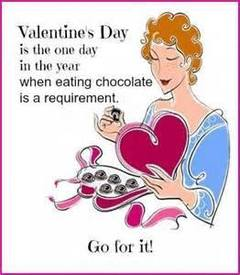 Eating Chocolate Tomorrow?
