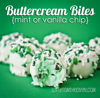 Butter Cream Bites!
