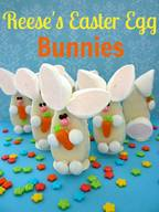 Reeses Easter Egg Bunnies!