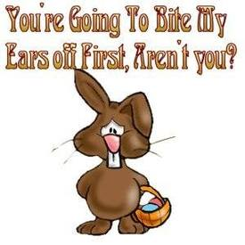 Chocolate Bunny Ears!