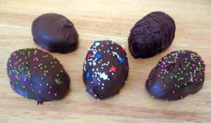 Homemade Peanut Butter Easter Eggs!
