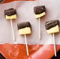 Dark Chocolate Dipped Pineapple!