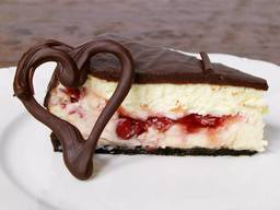 Chocolate Covered Cherry Cheesecake!