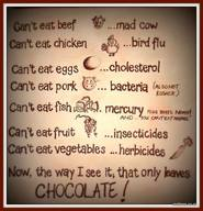 I Choose Chocolate!