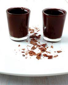 Chocolate Rum Shot Glasses!