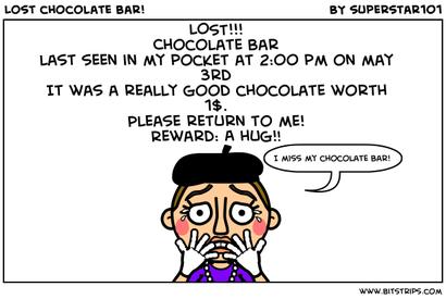 Missing Chocolate!