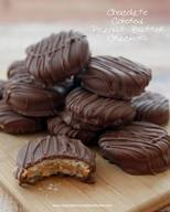 Chocolate Dipped Pb Crackers!
