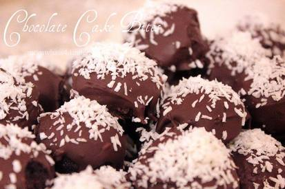 Chocolate Cake Bites!