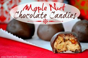 Maple Nut Chocolate Candy!