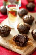 Spiced Tequila Dark Chocolate Truffles!