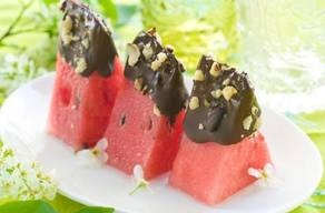 Chocolate Dipped Watermelon!