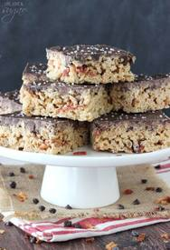 Chocolate Bacon Rice Krispie Treats!