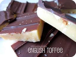 Homemade English Toffee!