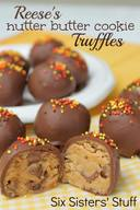 Reeses' Nutter Butter Cookie Truffles!