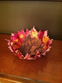 Chocolate Fall Leaves!