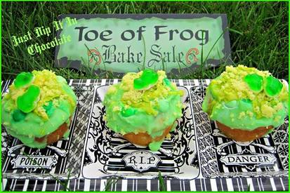 Toe Of Frog!