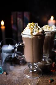 Pumpkin Butterbeer Hot Chocolate!