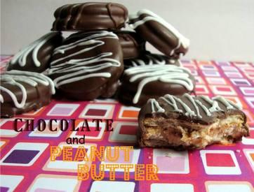 Chocolate Covered Pb Crackers!