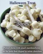 White Chocolate Bones!