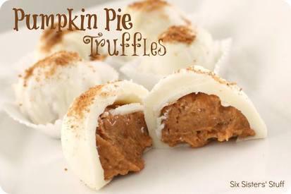 Pumpkin Pie Truffles!
