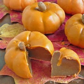 Chocolate Caramel Filled Pumpkins!