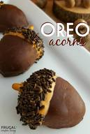 Edible Oreo Acorns!